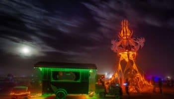 Unauthorized Marijuana at Burning Man