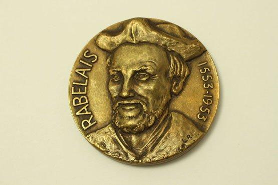 Médaille_commémorative_à_l'effigie_de_Rabelais