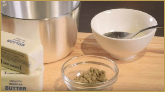 how-to-make-kef-infused-Clarified-butter-cannabis