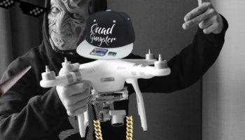 Des joints gratuits par Drone