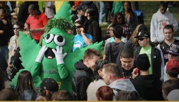 La GMM ou la Marche mondiale pour la libération du cannabis