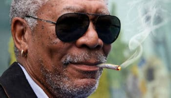 Morgan Freeman's weed is of interest to Russian media