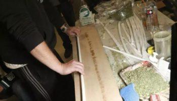record,le plus long,un joint de plus de 30 mètres,1 kilo d'herbe,joint