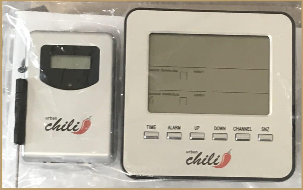 MONITORING TEMPERATURE AND HUMIDITY: A Thermometer Monitors The Internal  Temperature Of The Box. In Addition, A Hygrometer Provides Moisture  Monitoring.
