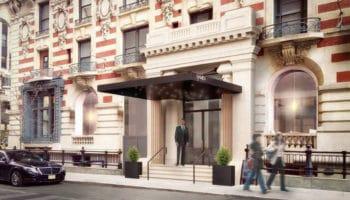 Un hôtel haut de gamme à New York offre un menu au CBD
