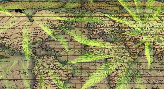 16-land met legale cannabismarkten