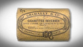 cigarette indienne,cigarette pharmaceutique,asthme,Grimault