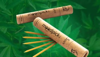 cannabis sticks, TrichomeShell, moodpick, cannabis toothpick