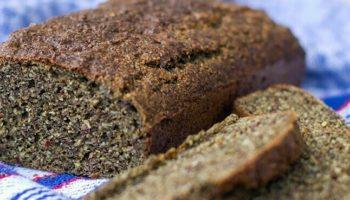 Het recept voor hennepbrood, hennepbrood